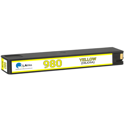 LAinks Replacement for HP #980 D8J09A Yellow Ink Cartridge HP_980-Y