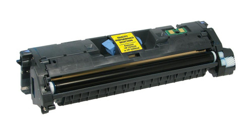 LAinks Replacement for HP 121A C9702A Yellow Laser Toner Cartridge HP_C9702A
