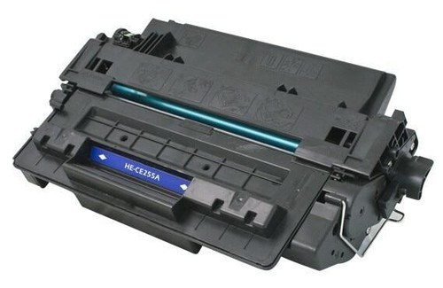 LAinks Replacement for HP 55A CE255A Black Laser Toner Cartridge HP_CE255A