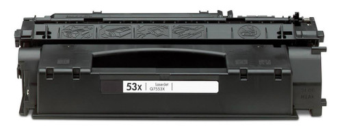 LAinks Replacement for HP 55X CE255X High Yield Black Laser Toner Cartridge HP_CE255X