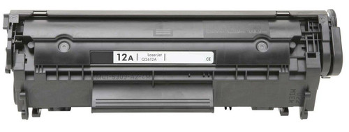 LAinks Replacement for HP 12A Q2612A Black Laser Toner Cartridge HP_Q2612A