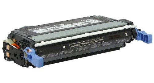 LAinks Replacement for HP 644A Q6460A Black Laser Toner Cartridge HP_Q6460A
