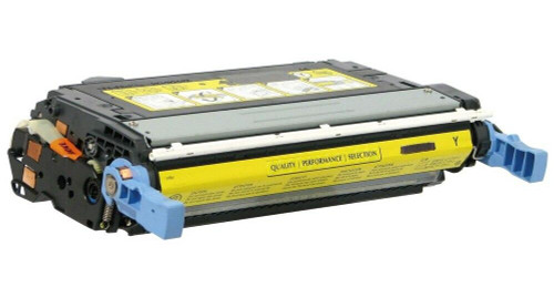 LAinks Replacement for HP 644A Q6462A Yellow Laser Toner Cartridge HP_Q6462A