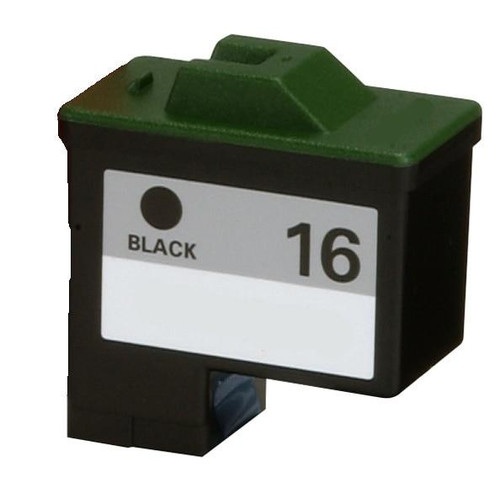LAinks Replacement for Lexmark #16 10N0016 Black Ink Cartridge LEX_16