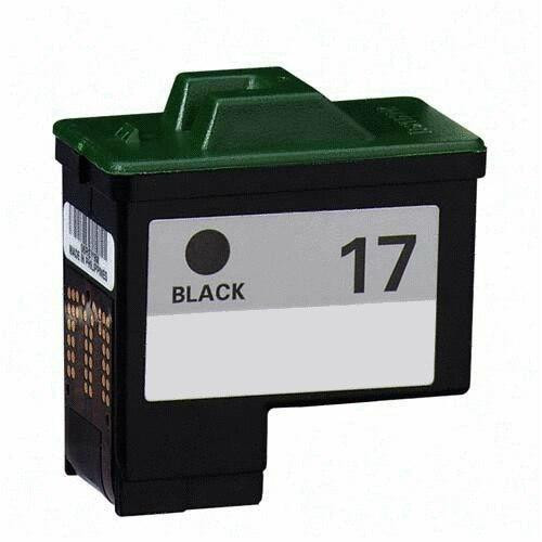 LAinks Replacement for Lexmark #17 10N0217 Black Ink Cartridge LEX_17