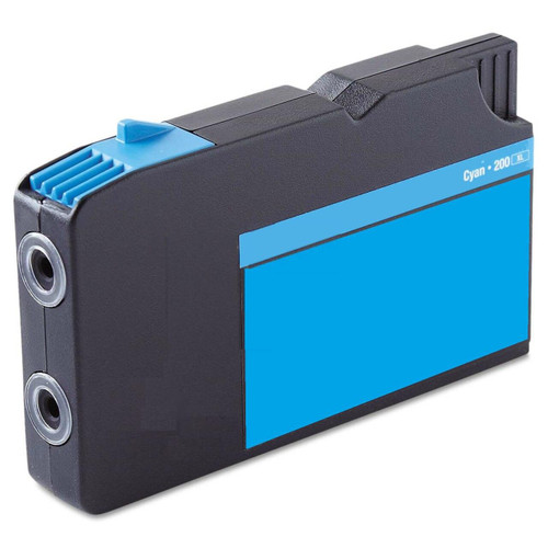 LAinks Replacement for Lexmark #200XL 14L0175 High Yield Cyan Ink Cartridge LEX_200XL-C