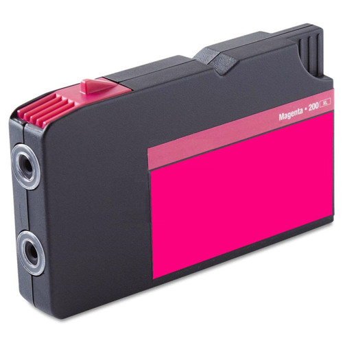 LAinks Replacement for Lexmark #200XL 14L0176 High Yield Magenta Ink Cartridge LEX_200XL-M