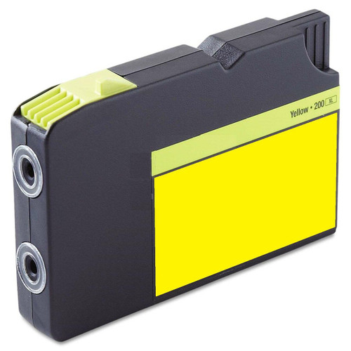 LAinks Replacement for Lexmark #200XL 14L0177 High Yield Yellow Ink Cartridge LEX_200XL-Y
