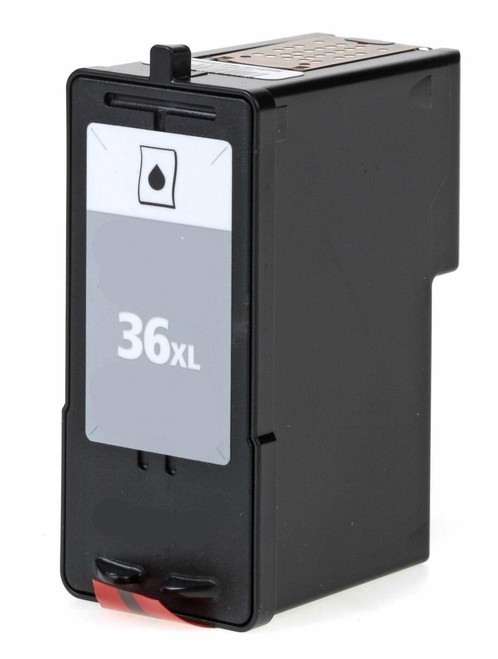 LAinks Replacement for Lexmark #36XL 18C2190 High Yield Black Ink Cartridge LEX_36XL