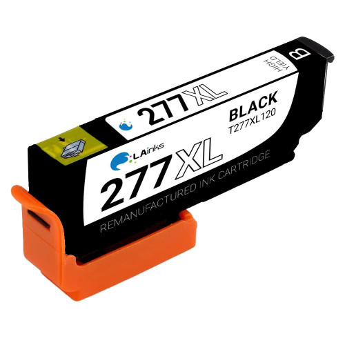 LAinks Replacement for Epson 277XL T277XL120 High Yield Black Ink Cartridge EPSON_T277XL-B