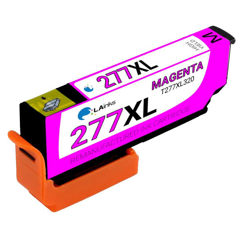 LAinks Replacement for Epson 277XL T277XL320 High Yield Magenta Ink Cartridge EPSON_T277XL-M