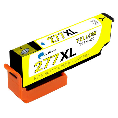 LAinks Replacement for Epson 277XL T277XL420 High Yield Yellow Ink Cartridge EPSON_T277XL-Y