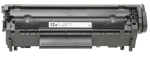 LAinks Replacement for HP 12A Q2612A JUMBO Black Toner Cartridge - 100percent More Yield HP_Q2612AJ