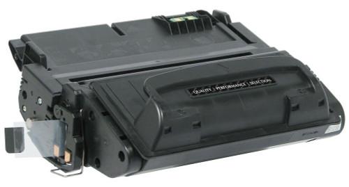 LAinks Replacement for HP 42A Q5942A JUMBO Black Toner Cartridge - 25percent More Yield HP_Q5942AJ