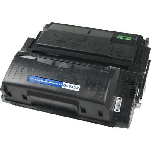 LAinks Replacement for HP 42X Q5942X JUMBO Black Toner Cartridge - 40percent More Yield HP_Q5942XJ
