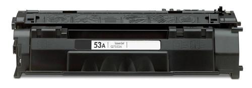LAinks Replacement for HP 53A Q7553A JUMBO Black Toner Cartridge - 33percent More Yield HP_Q7553AJ