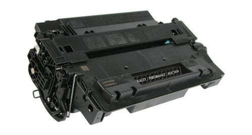 LAinks Replacement for HP 55X CE255X JUMBO Black Toner Cartridge - 20percent More Yield HP_CE255XJ
