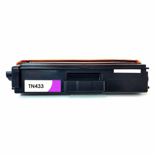 LAinks Replacement for Brother TN-433 TN433M High Yield Magenta Toner Cartridge BROTHER_TN433M