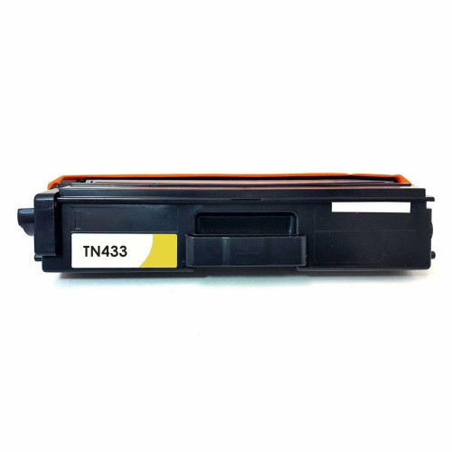 LAinks Replacement for Brother TN-433 TN433Y High Yield Yellow Toner Cartridge BROTHER_TN433Y