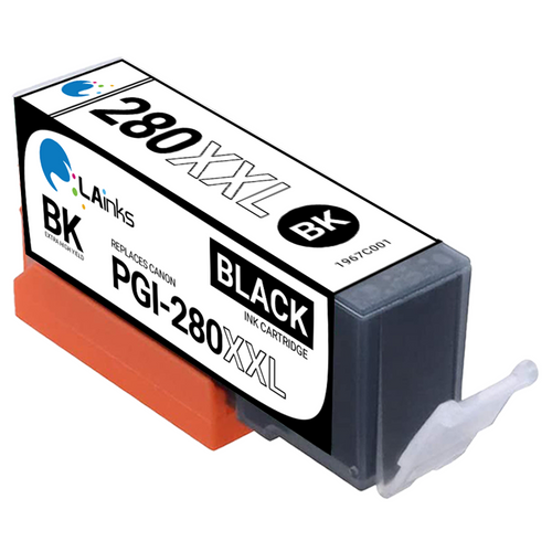 LAinks Replacement for Canon PGI-280XXL 1967C001 High Yield Black Ink Cartridge CANON_PGI-280XXL