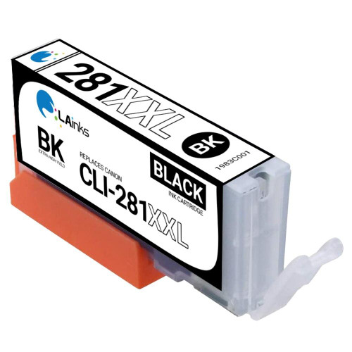 LAinks Replacement for Canon CLI-281XXL 1983C001 High Yield Black Ink Cartridge CANON_CLI-281XXL-B