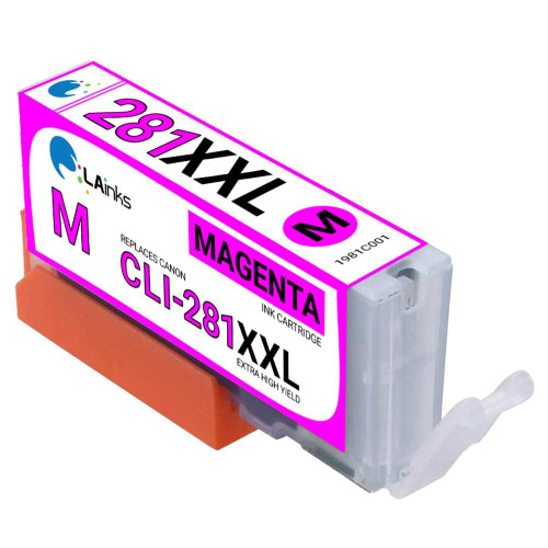 LAinks Replacement for Canon CLI-281XXL 1981C001 High Yield Magenta Ink Cartridge CANON_CLI-281XXL-M