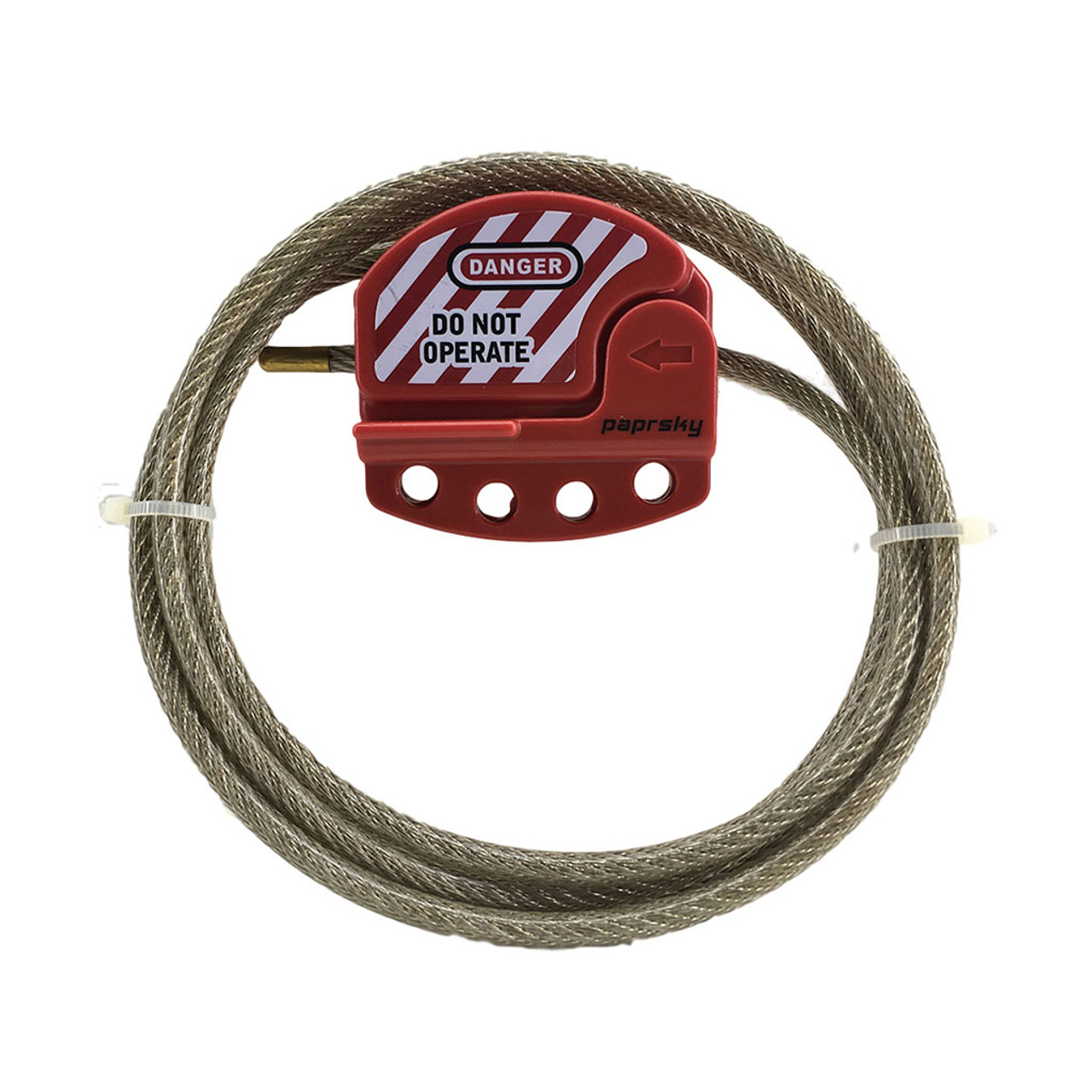 Adjustable Cable Lockout - 6mm PS-LOTO-ACL6