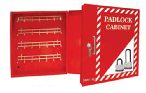 Padlock Cabinet for 112 Locks