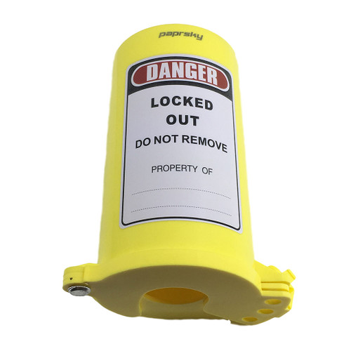 Cylinder Lockout (Yellow Lid) PS-LOTO-CLY