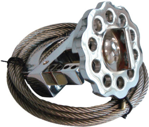 Metallic Multipurpose Cable Lockout 2 Meters Stainless Steel Cable  PS-LOTO-MCLS2