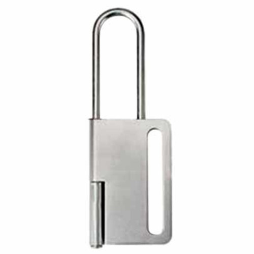 Heavy Duty Hasp - 1 inch x 1 inch - 6 Locks PS-LOTO-HASP-SS70