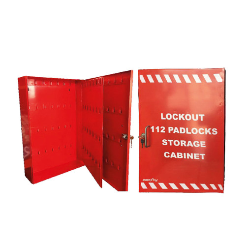 Padlock Cabinet for 112 Locks PS-LOTO-PC112