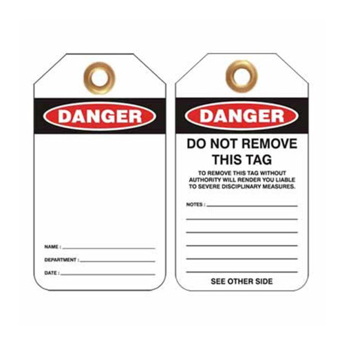 Lockout Tag Danger - PS- LOTO-TAG