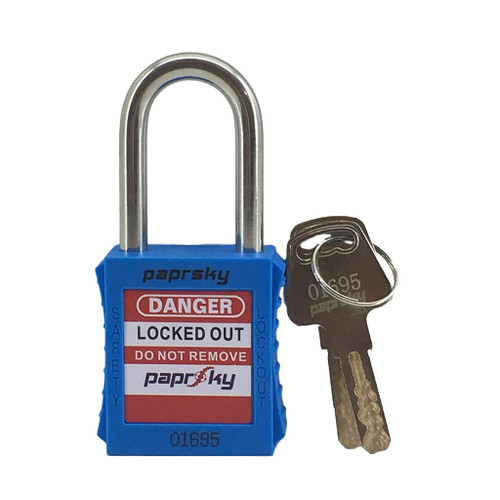 Lockout Padlock Blue locks PS-LOTO-PPR-38