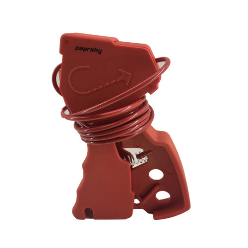 Special nylon molded Cable lockout device  PS-LOTO-MUCL