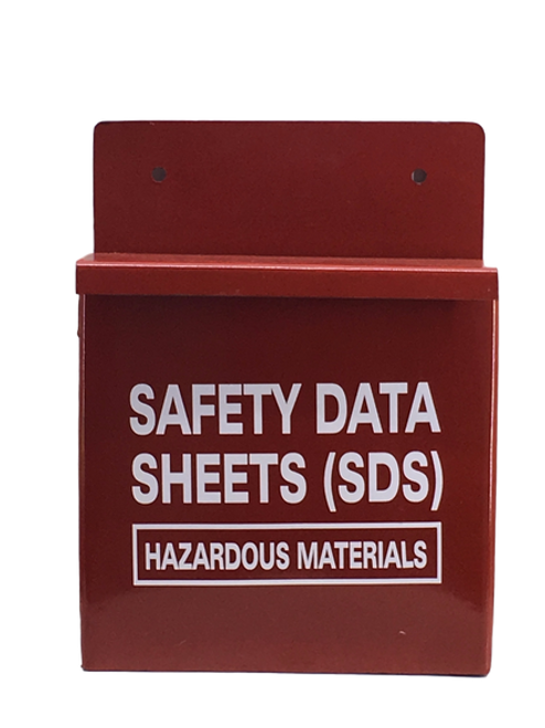 Safety Data Sheets SDS Metal Box
