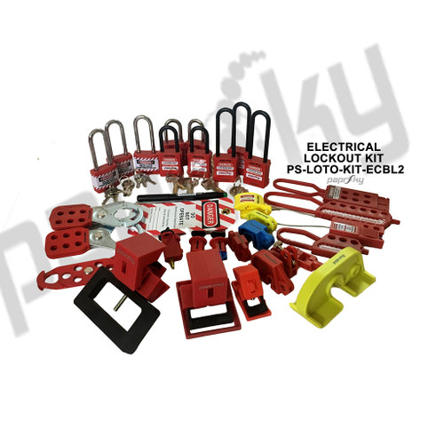 Electrical Circuit Breaker Lockout Kit PS-LOTO-KIT-ECBL2