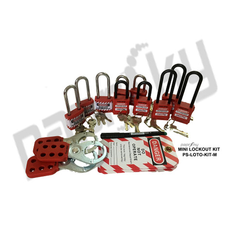Mini Lockout Kit PS-LOTO-KIT-M