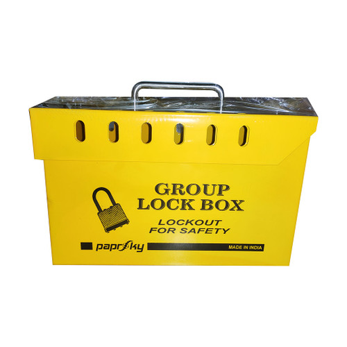 Group Lock Box Yellow PS-LOTO-GLB-13