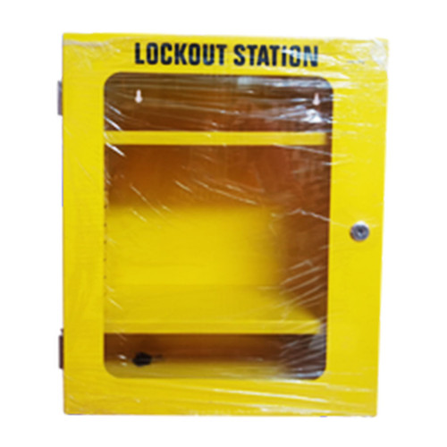 Lockout Station Box Yellow  PS-LOTO-STATION BOX YELLOW