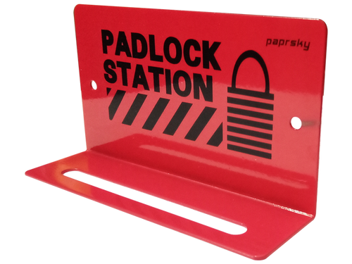 Mini Padlock Station PS-LOTO-PS5