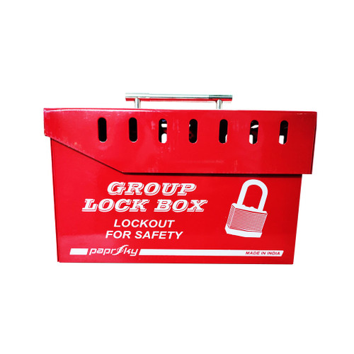Group Lock Box Red PS-LOTO-GLB-15