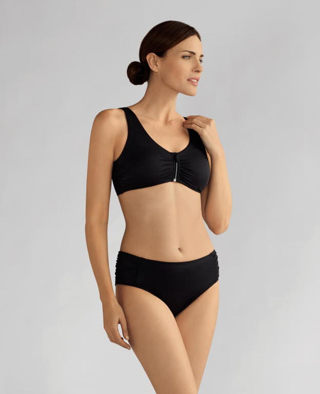 db690c0f0fa Amoena 71123 Cocos Mastectomy Swim Top - MastectomyShop.com