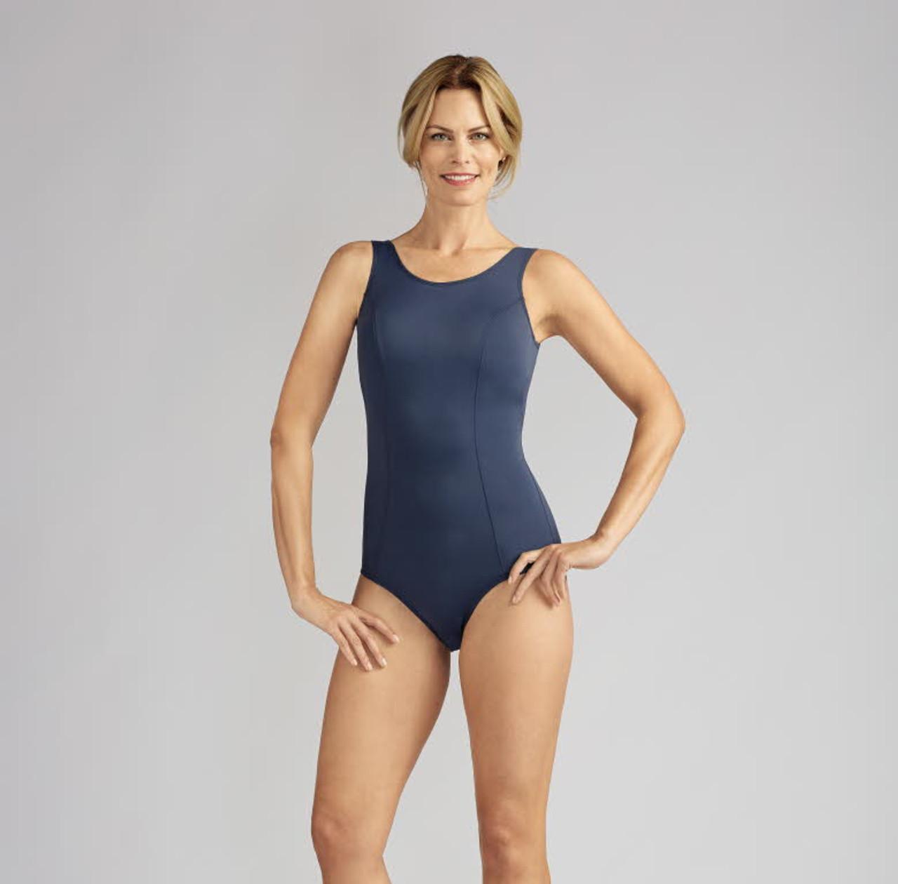 36b69b180c4 Amoena 70842/70654 Rhodes One-Piece Mastectomy Swimsuit ...