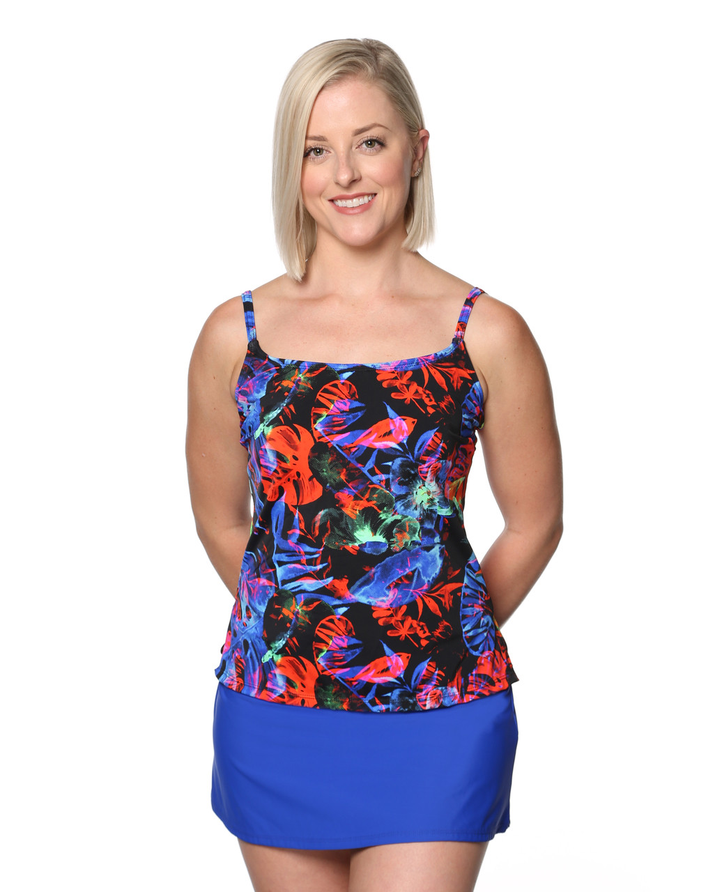 45bc523e078 2019 T.H.E. Collection 28-60 Mastectomy Swim Tank Top Only ...