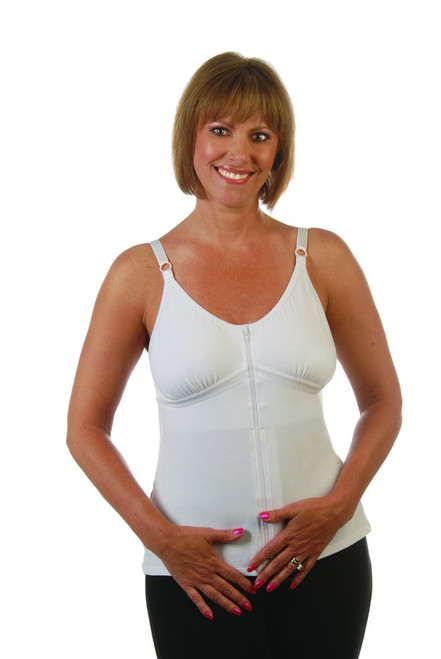1be37dd0c48018 Beth Post-Surgical Camisole by Wear Ease®-Front Zip