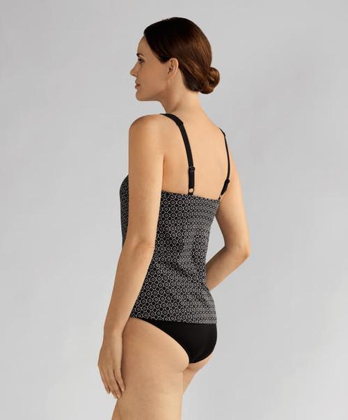 4ae67f76668 Amoena 71116 Ayon Tankini Mastectomy Swim Top - MastectomyShop.com