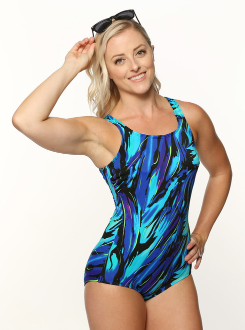 4329c7c78f T.H.E. Mastectomy Swim Suit Swimmer's Back 918-60-749 (ALL SALES FINAL!