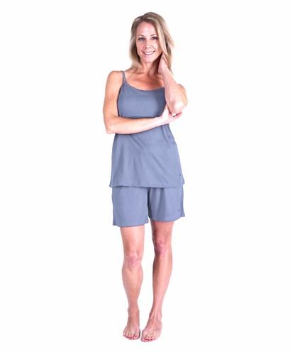 cec79c400e Cool Jams T3433 Moisture Wicking Cami Shorty Pajama Set With Shelf Bra ...