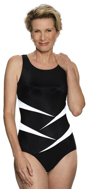0ddde5c54fb JODEE 1469 Fun in the Sun Mastectomy Tank Swim Suit - MastectomyShop.com